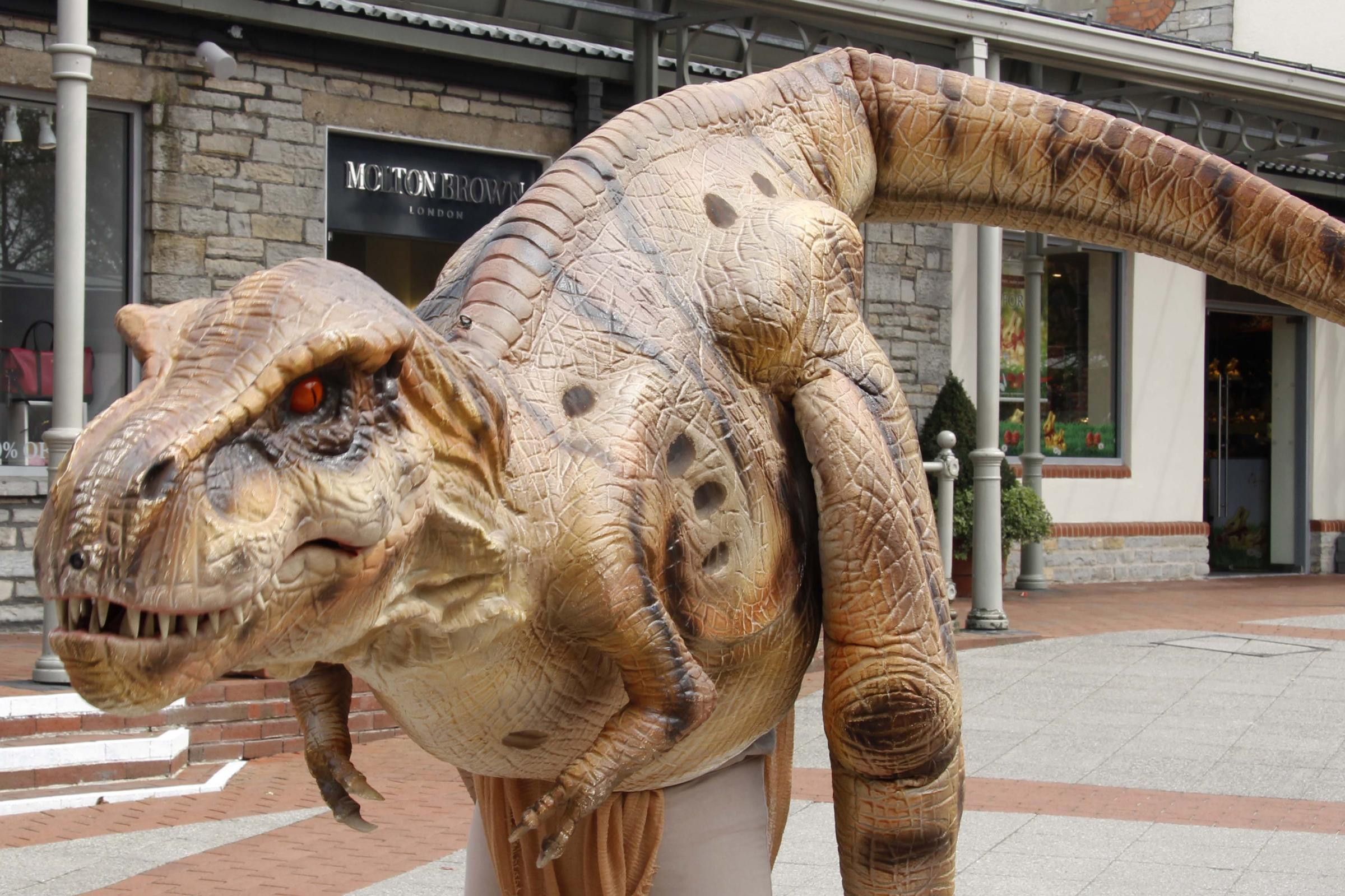 MEET LEXISAURUS REX AND ENJOY DINO TALES AT THE LEXICON