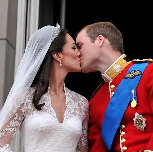 Villager: William and Kate's kiss on the balcony has been voted the favourite TV moment of 2011