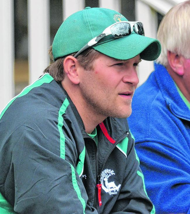Berkshire coach Tom Lambert