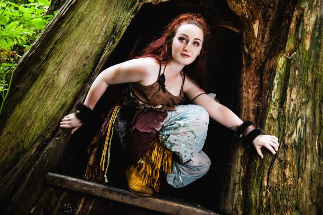 Tiger Lily will play a starring role in South Hill Park's production of Peter Pan