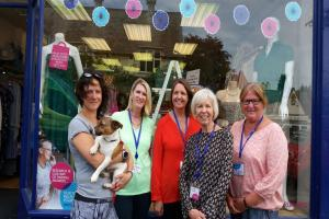 Race for Life event at Windsor Racecourse attracts determined charity shop volunteers