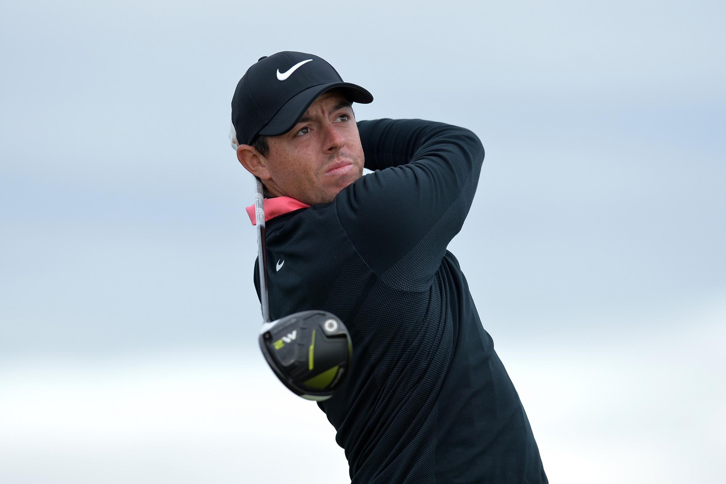 Northern Ireland's Rory McIlroy during day four of the Alfred Dunhill Links Championship atSt Andrews Old Course, Fife.