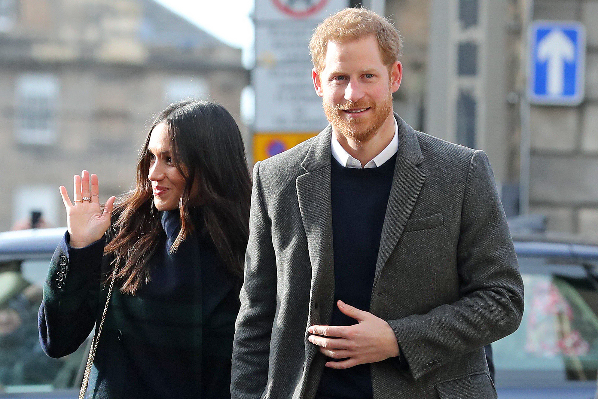 Prince Harry and Meghan Markle choose the wedding cake for their big day in Windsor - PA/WIRE picture