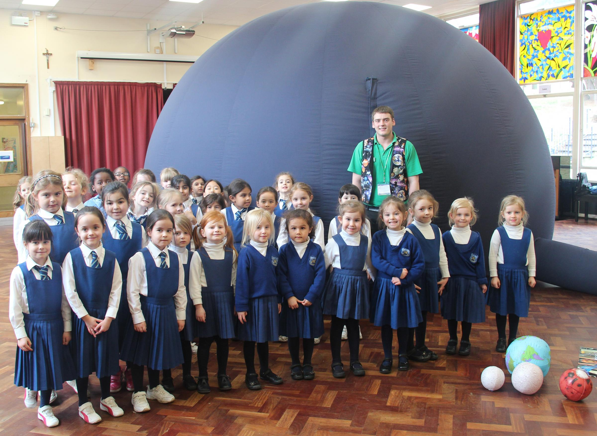 Students celebrate science week exploring the solar system