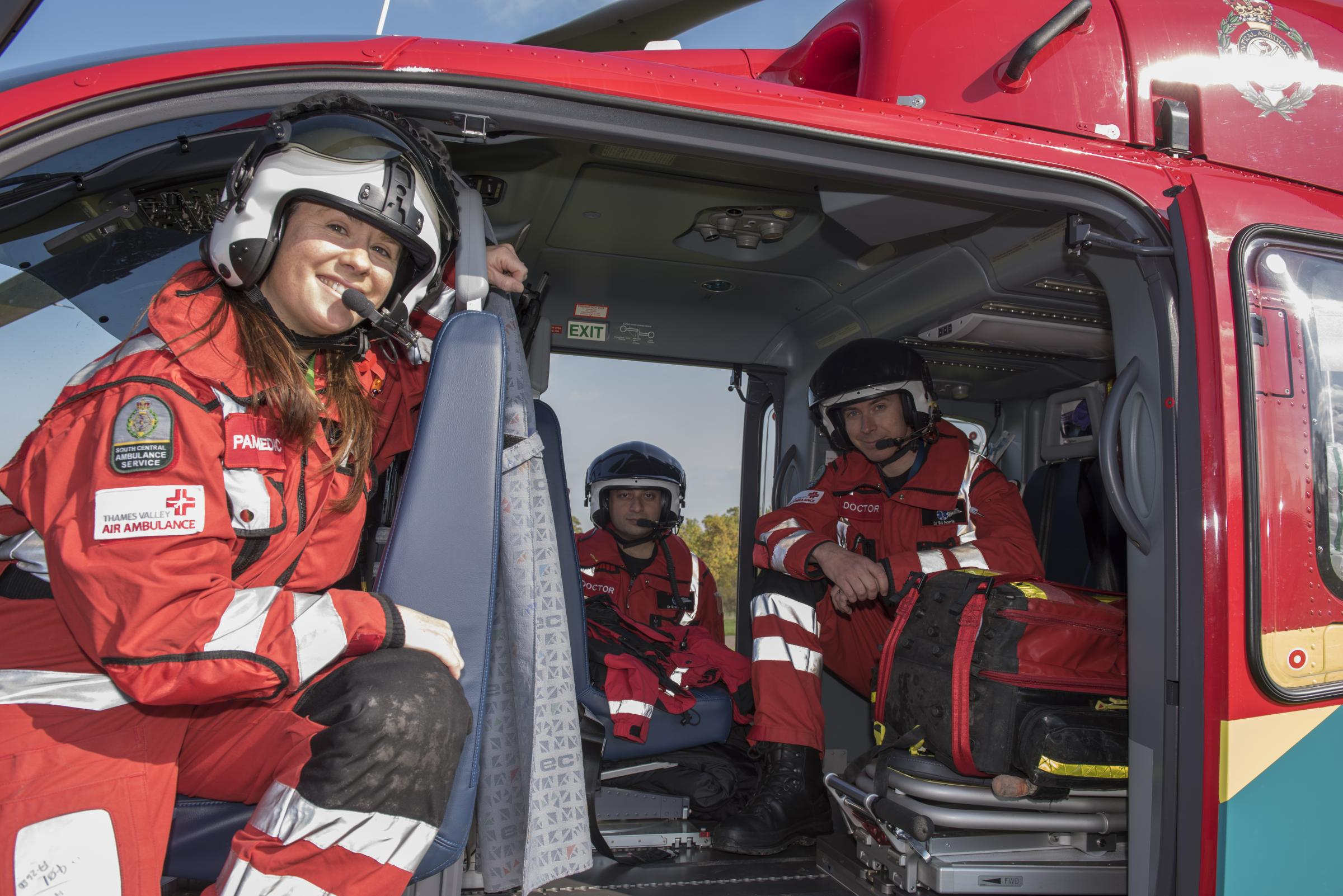Air ambulance team to star in new television documentary