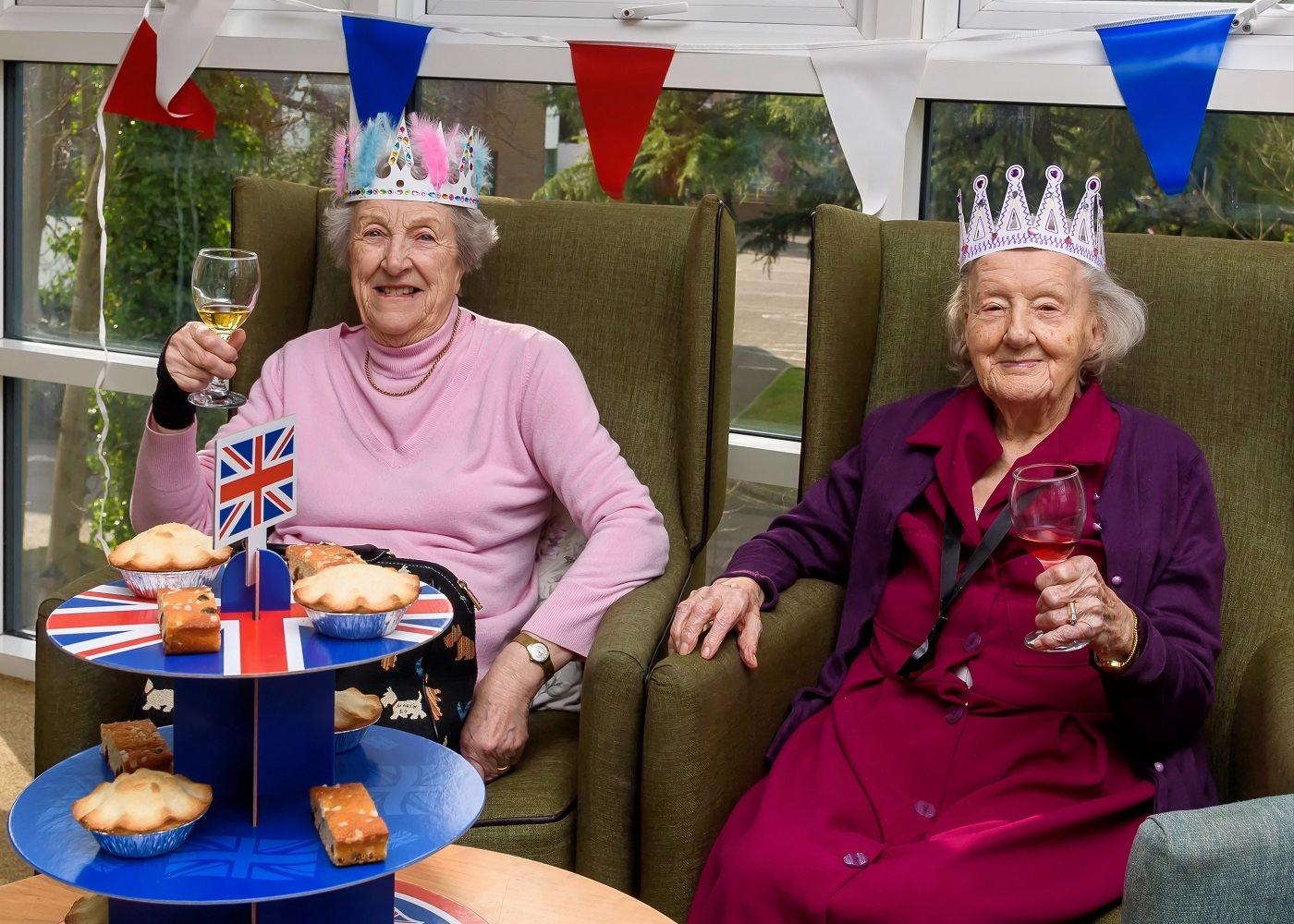 Larkland Care Home will mark the Queen's birthday for Care Home Open Day