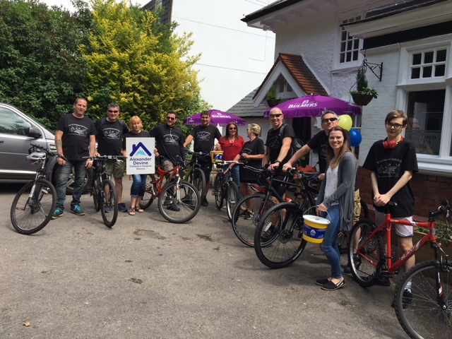 Community gets on its bike to support the new children's hospice