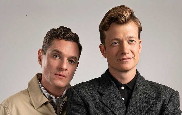 Matthew Horne and Ed Speleers